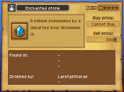 Enchanted Stone