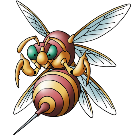 File:DQVIII - Hell hornet.png