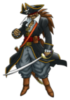 DQVIII - Captain crow
