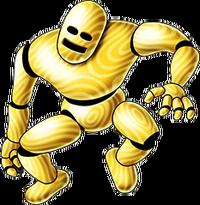 DQX - Gold mannequin