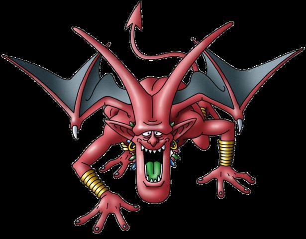 File:DQVIII - Lesser demon.png