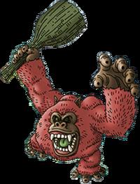 DQVIII - Pink pongo