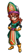 DQVII3DS - Maribel - Priest