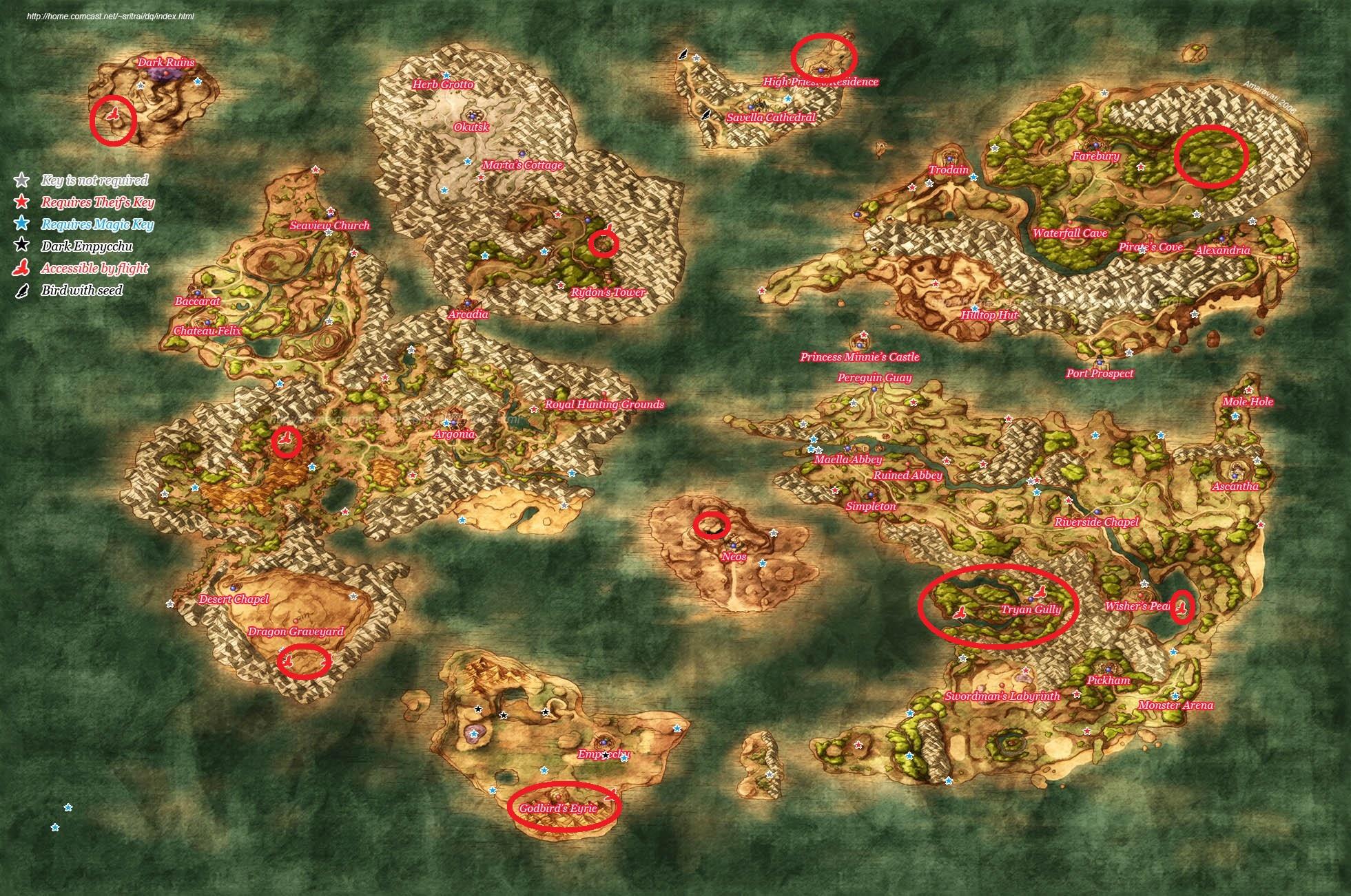 baccarat location dragon quest 8