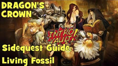 Dragons Crown - Sidequest Guide Living Fossil
