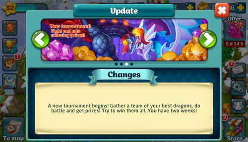 Tournament XCI Update