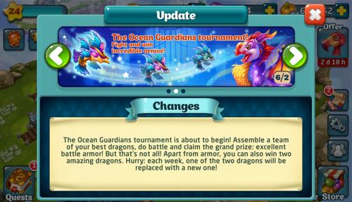 Tournament LXI Update