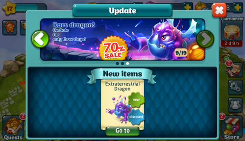 Extraterrestrial Dragon Update