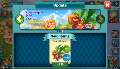 Oasis Update