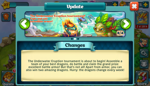 Tournament LXX Update
