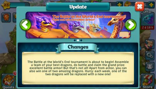 Tournament LVI Update
