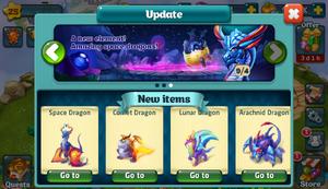 Space Element Update