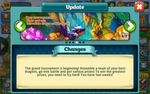 Tournament 144 Update