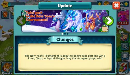 Tournament XL Update