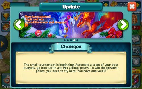 Tournament 137 Update