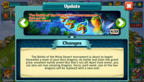 Tournament LXIV Update