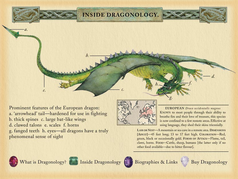 European Dragon: Dragonology: The Complete Book Of Dragons