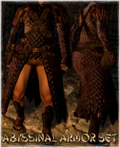 Armour Sets Abyssinal Armor Set