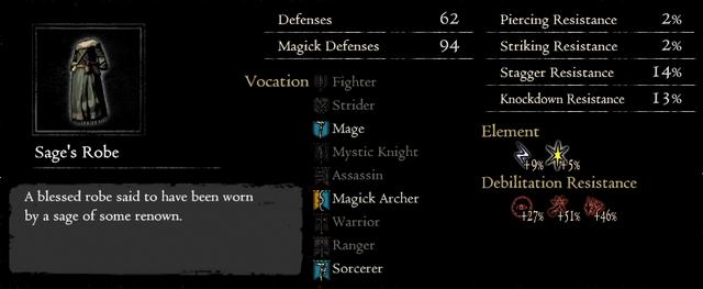 Dragonforged Sage's Robe