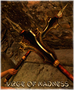 Weapon Mace Virge of Madness