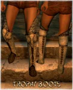 Armour Legs Trophy Boots