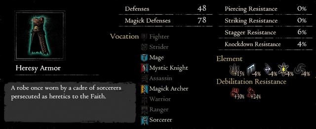 Dragonforged Heresy Armor