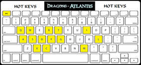 DoA Hot Keys Keyboard