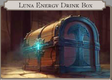 Luna Engergy Drink Box