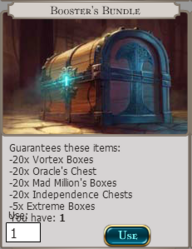 Boosters Bundle