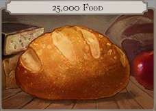 25k Food icon