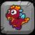 CoralDragonBabyButton