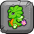 CloverDragonBabyButton
