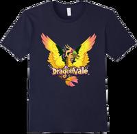 DragonValeT-Shirt-Gaia-Navy