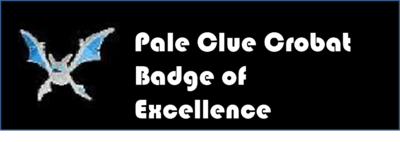 Pale Clue Crobat Badge of Excellence