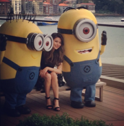 Miranda with Two Minions