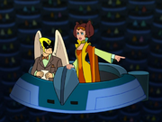 Image result for harvey birdman and Princess Clara