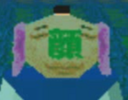 Nodding Kyoto Man Symbol