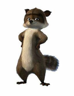 RJ the raccoon