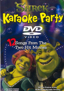 Shrek Karaoke Party DVD (12 songs)
