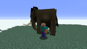 Player and mammoth