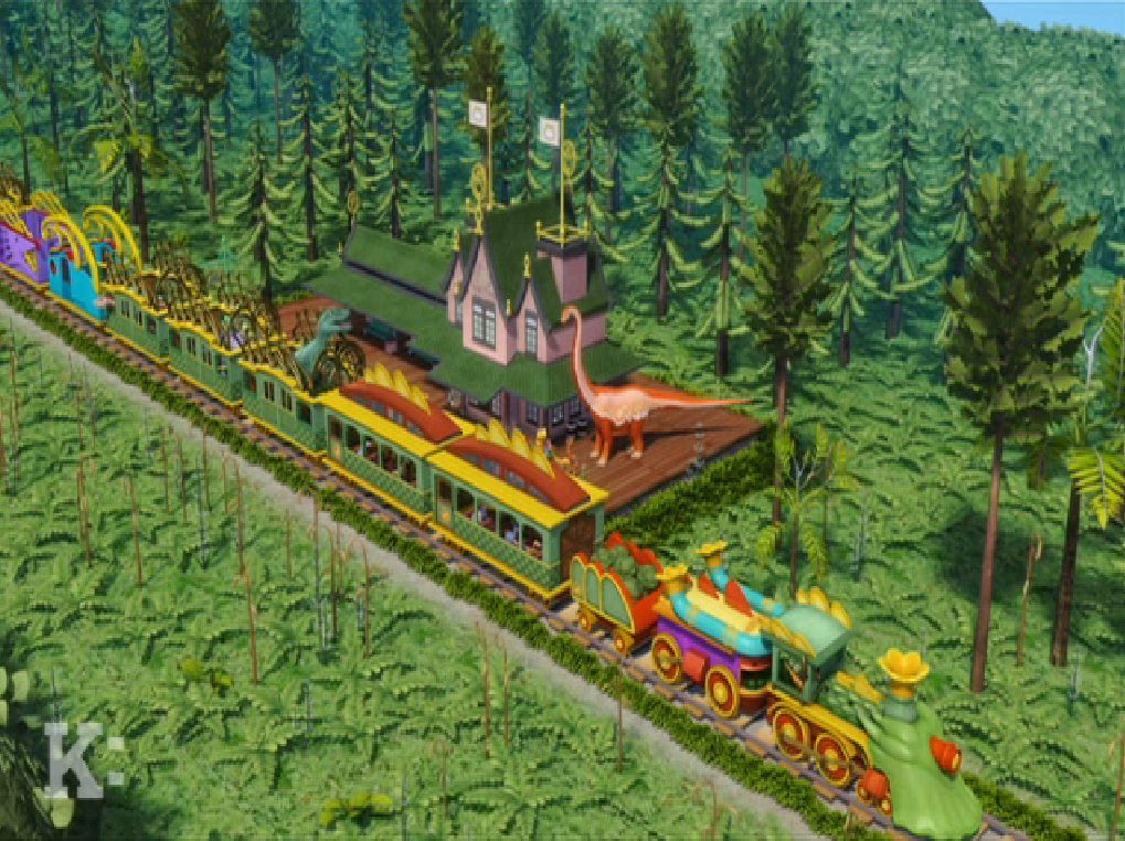 Zigongosaurus Zenith Station | Dinosaur Train Wiki ...