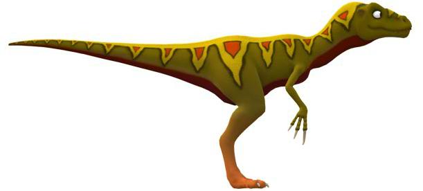 xenotarsosaurus dinosaur coloring pages - photo#40