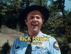 Rick Hurst - Title Card