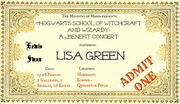 Wikia DARP - Benefit Concert-Ticket LeSw