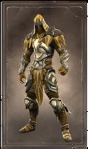 Gleaming goldleaf armor