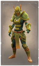Growing marigold armor