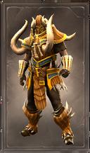 Victorious exalt armor