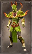 Caustic poisonleaf armor