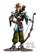 Elven Archer Concept 2