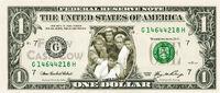 United states of america dollar bill note duran duran